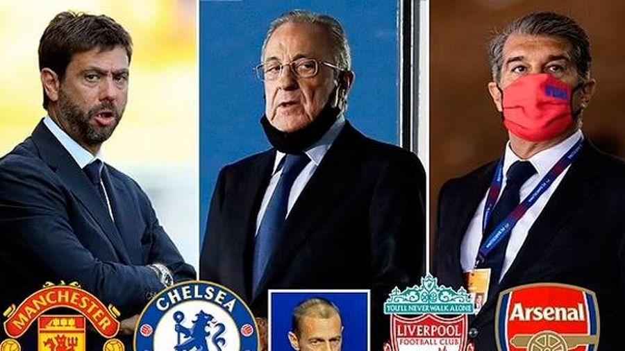 Super League Super League phản kích trừng phạt từ UEFA
