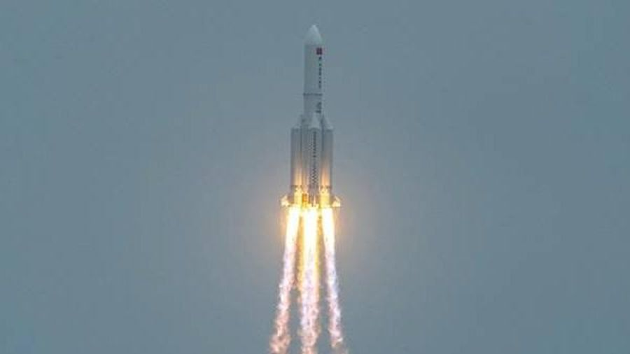 Mảnh vỡ tên lửa của Trung Quốc rơi xuống Ấn Độ Dương