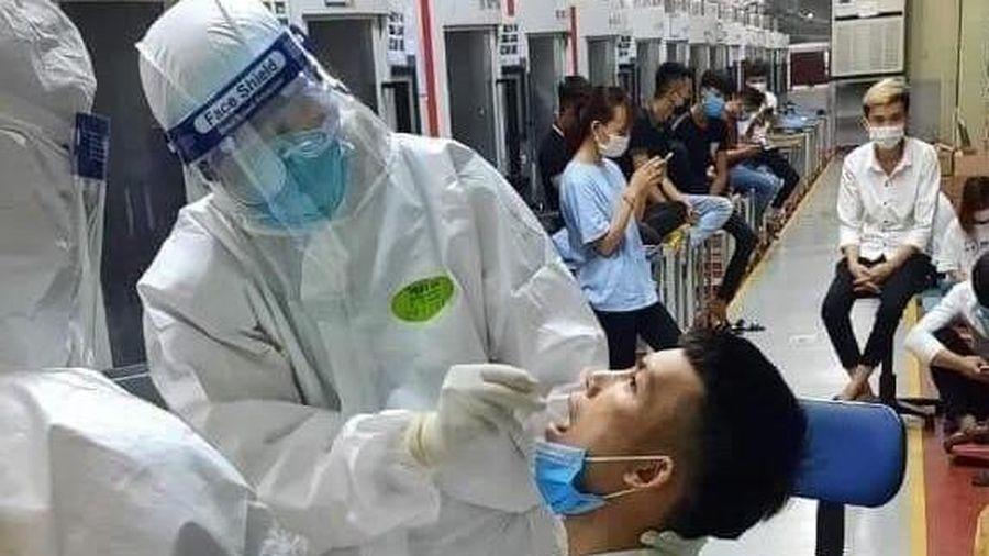Ghi nhận tổng 16 ca mắc COVID-19, Bắc Giang họp khẩn