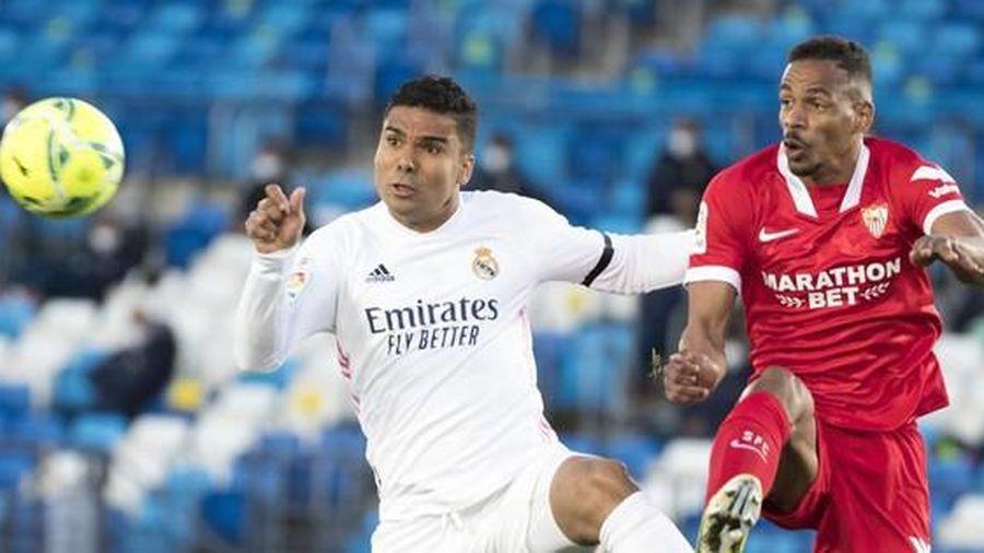 Hòa Sevilla, Real Madrid lỡ cơ hội chiếm ngôi đầu La Liga