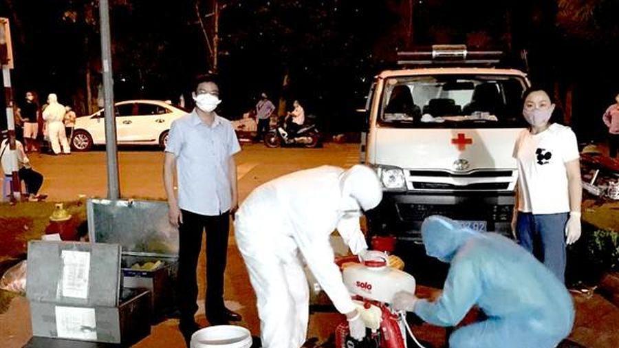 Huyện Gia Lâm: Cách ly y tế tầng 5 tòa nhà D5, khu đô thị Đặng Xá