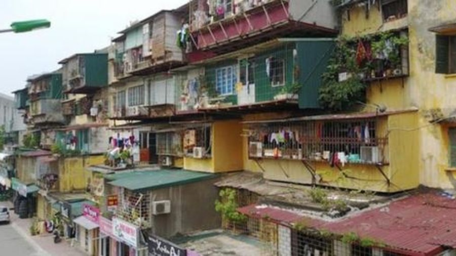 Hà Nội triển khai cải tạo, xây dựng lại những khu chung cư cũ