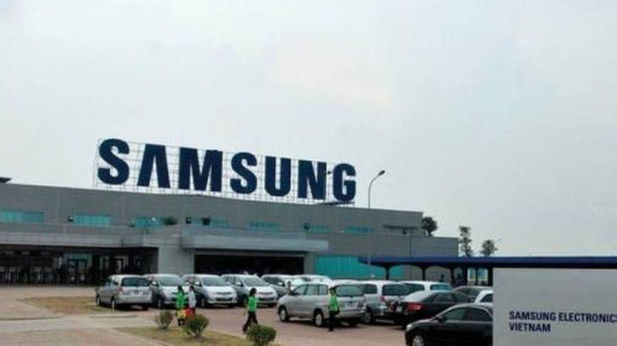 Bắc Ninh: 2 công nhân Công ty Samsung dương tính Covid-19