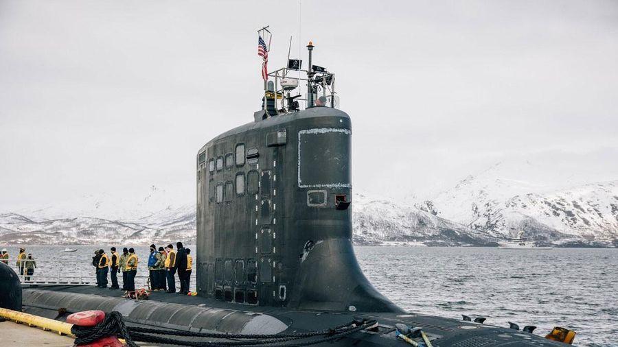 Dân Na Uy biểu tình phản đối tàu ngầm hạt nhân Mỹ cập cảng