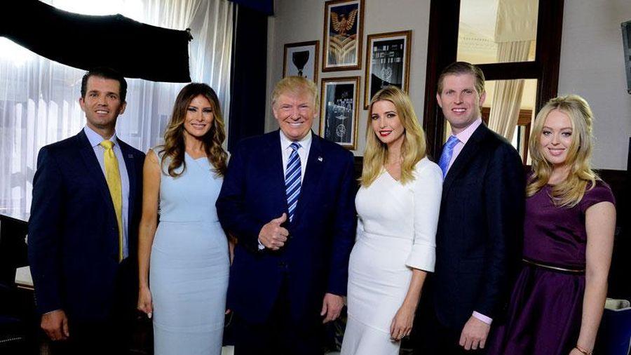 Tìm hiểu về cách ông Trump nuôi dạy 5 người con