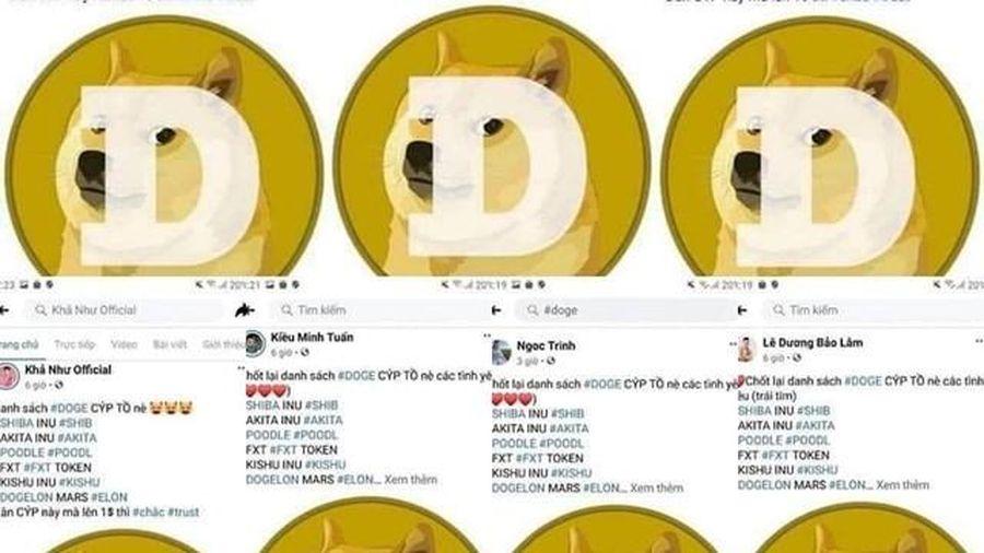Nghệ sĩ Việt quảng cáo tiền ảo núp bóng đa cấp, dân mạng phẫn nộ