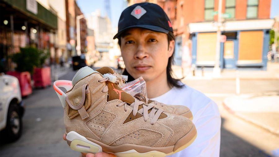 Kiếm hơn 1 triệu USD nhờ bán giày Air Jordan, Yeezy trong mùa dịch