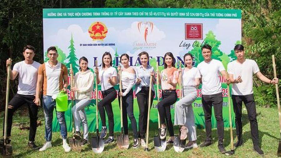 Hoa hậu Phương Khánh, Trúc Diễm, Hoàng Hạnh đồng hành cùng dự án trồng 50 triệu cây xanh