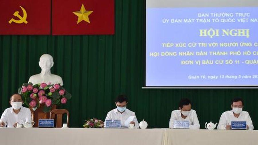 Ứng cử viên cam kết đảm bảo chất lượng môi trường sống nếu trúng cử HĐND TPHCM
