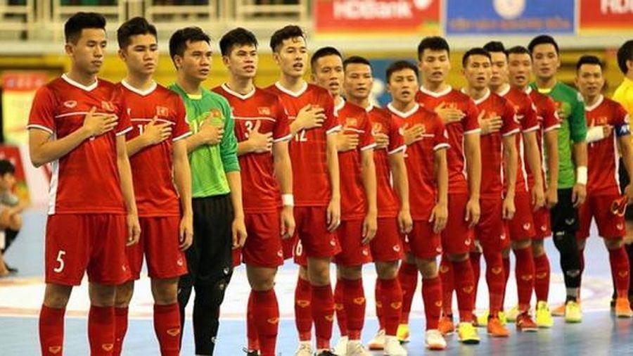 Tuyển futsal Việt Nam hủy giao hữu trong nước