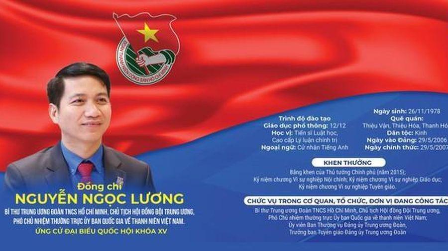 Chương trình hành động của ứng cử viên Đại biểu Quốc hội Nguyễn Ngọc Lương