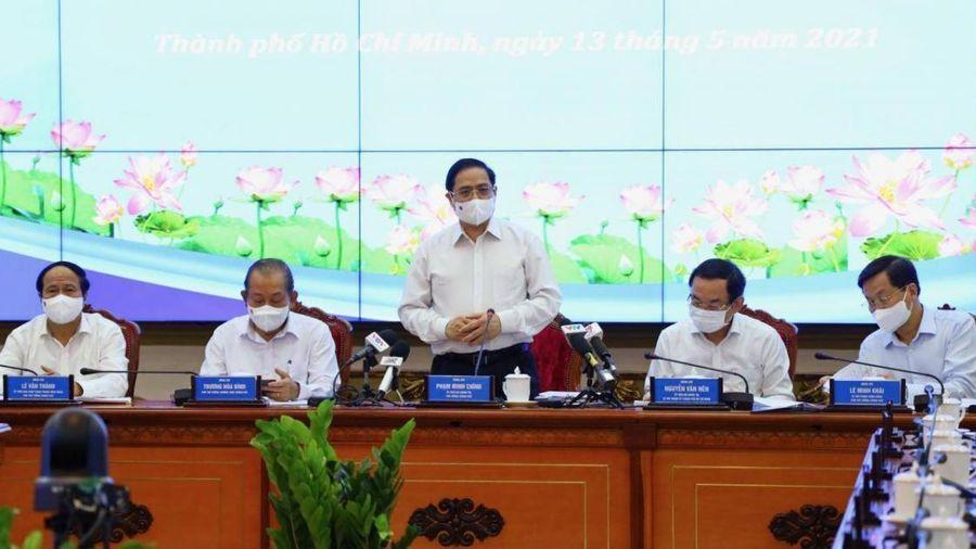 Thủ tướng Phạm Minh Chính lần đầu tiên làm việc với TP.HCM