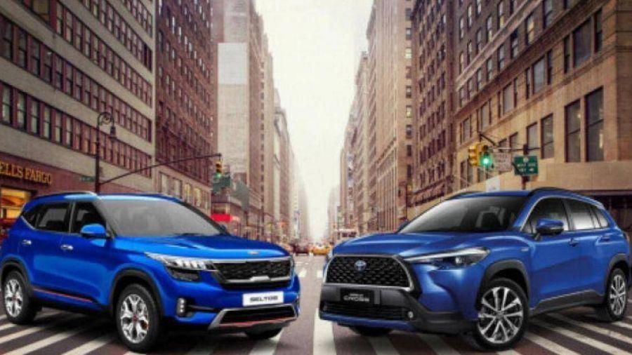 Tân binh Kia Seltos và Toyota Corolla Cross phủ sóng thị phần xe SUV cỡ nhỏ
