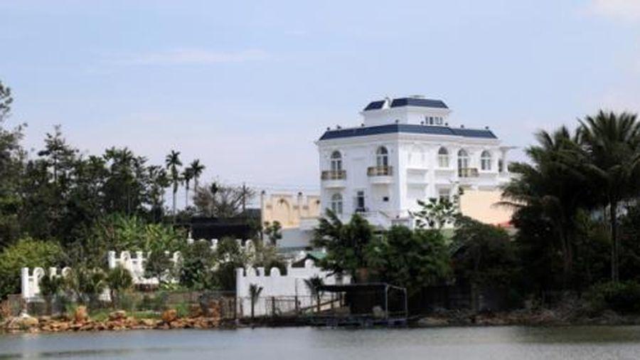 Lâm Đồng: Kiểm điểm Chi nhánh Văn phòng đăng ký đất đai thành phố Bảo Lộc, buộc cưỡng chế tháo dỡ biệt thự khủng