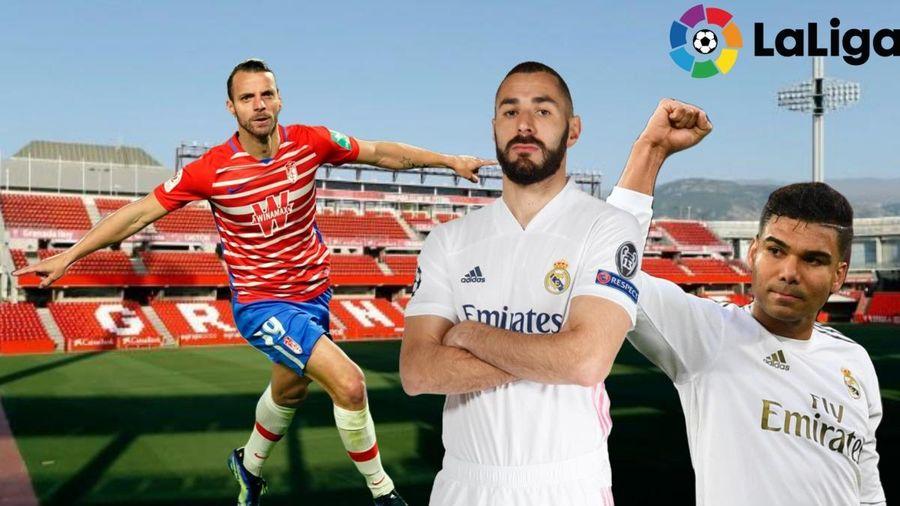 Dự đoán kết quả, đội hình xuất phát trận Granada – Real Madrid