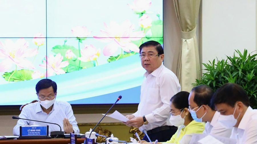 Lãnh đạo TPHCM kiến nghị Thủ tướng nhiều vấn đề 'nóng' về hạ tầng cơ sở