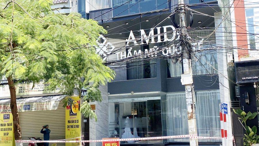 Khởi tố vụ án liên quan phòng chống dịch COVID-19 ở Thẩm mỹ viện Amida Đà Nẵng