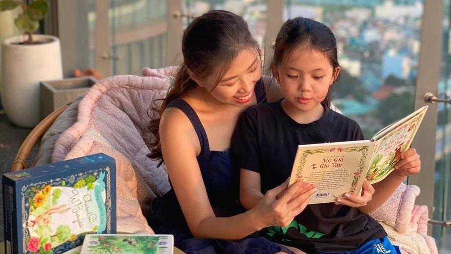 Tạo môi trường đọc cho trẻ mùa COVID-19