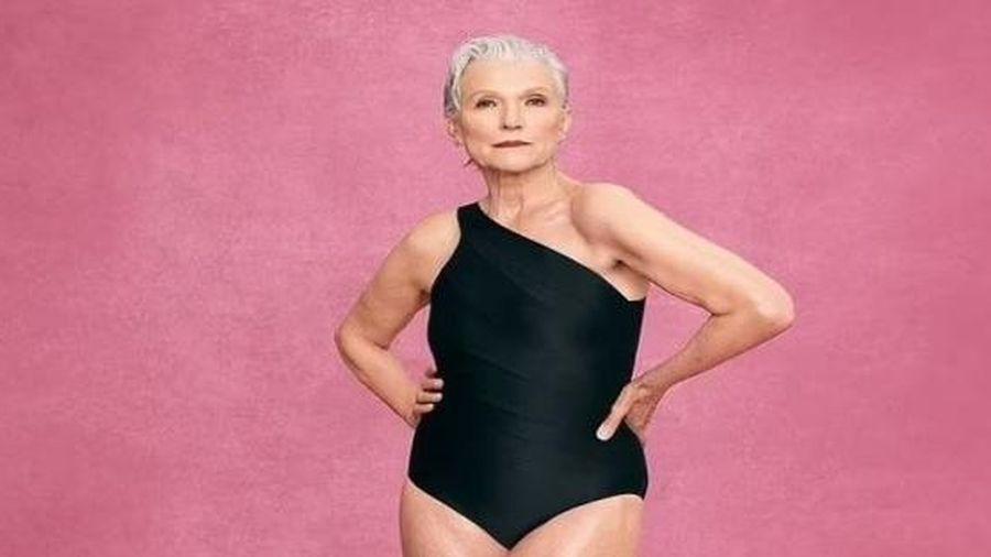 Mẹ tỉ phú Elon Musk gây ấn tượng khi tự tin làm mẫu áo tắm ở tuổi 73