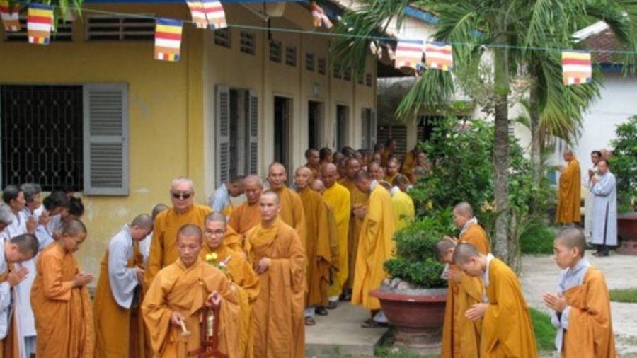 Vĩnh Long: Trường Trung cấp Phật học chiêu sinh khóa IX (2021-2024)