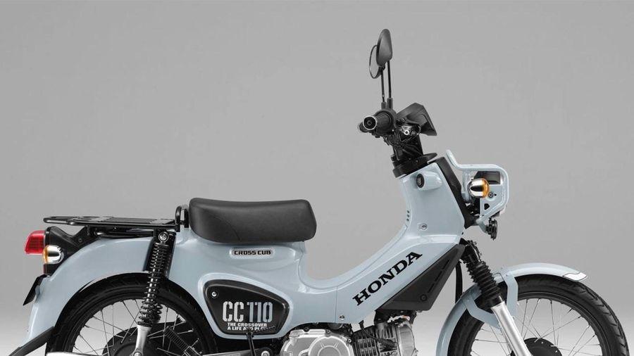 Honda Cross Cub 110 bổ sung phiên bản đặc biệt đẹp long lanh