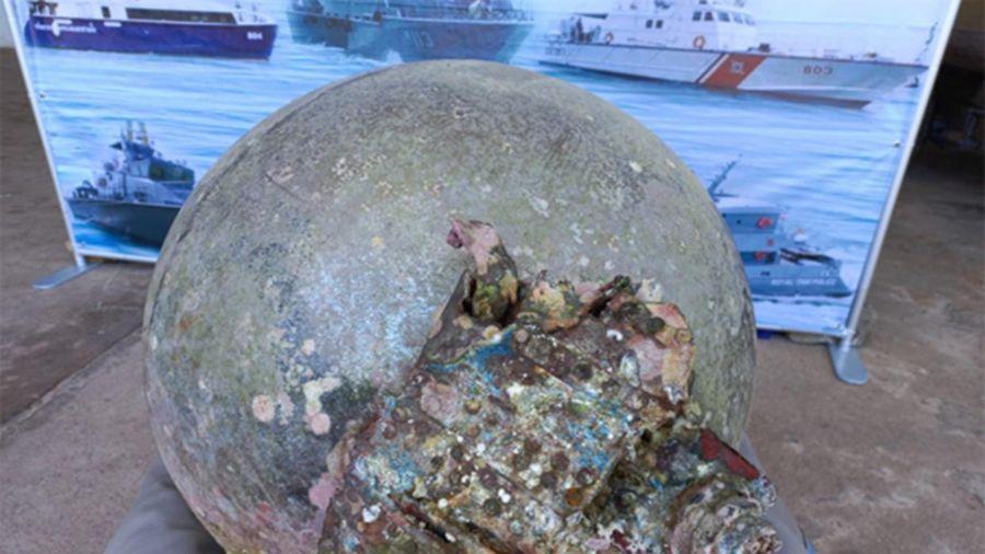 Ngư dân Thái Lan phát hiện mảnh vỡ thùng nhiên liệu tên lửa tàu vũ trụ