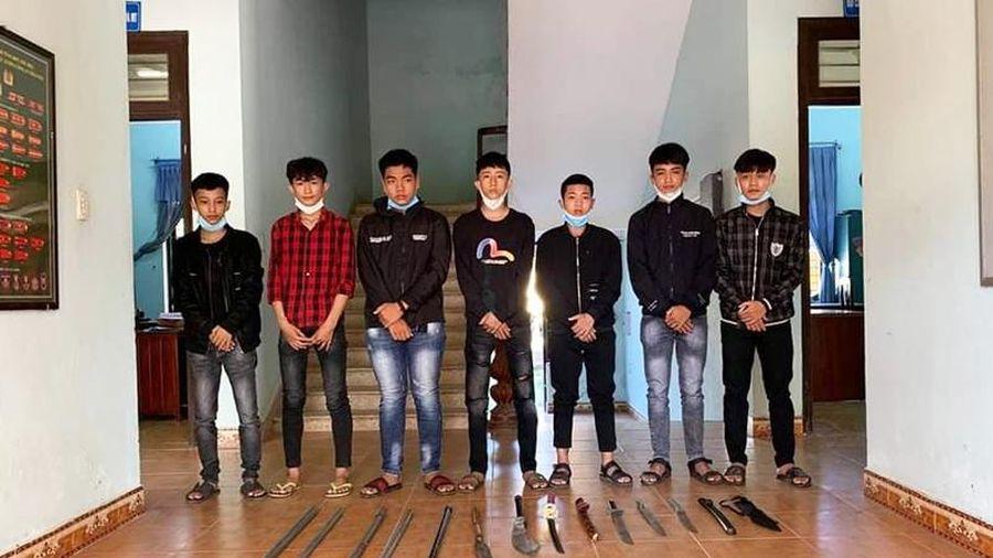 Quảng Nam: Truy bắt nhóm thanh niên chém người gây thương tích