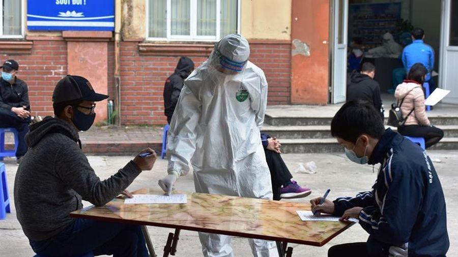 Quận Cầu Giấy: Rà soát 65 trường hợp trở về từ khu công nghiệp Bắc Ninh, Bắc Giang