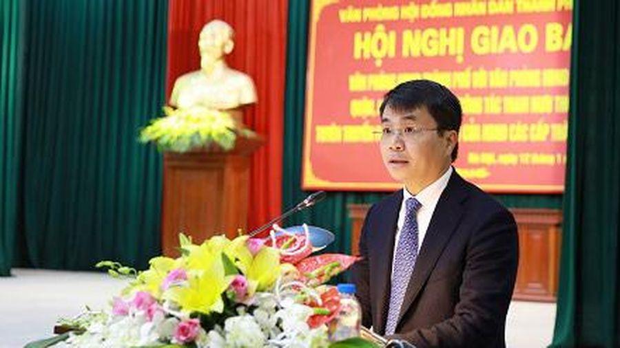 Chương trình hành động của Bí thư Đảng ủy khối các cơ quan TP Hà Nội Lê Minh Đức, ứng cử viên đại biểu HĐND TP Hà Nội nhiệm kỳ 2021 - 2026