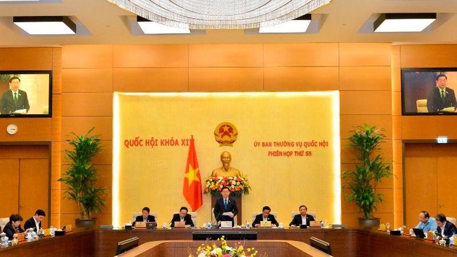 Công bố năm nghị quyết của Ủy ban Thường vụ Quốc hội