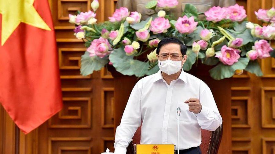 Thủ tướng Phạm Minh Chính làm việc với Bộ Xây dựng