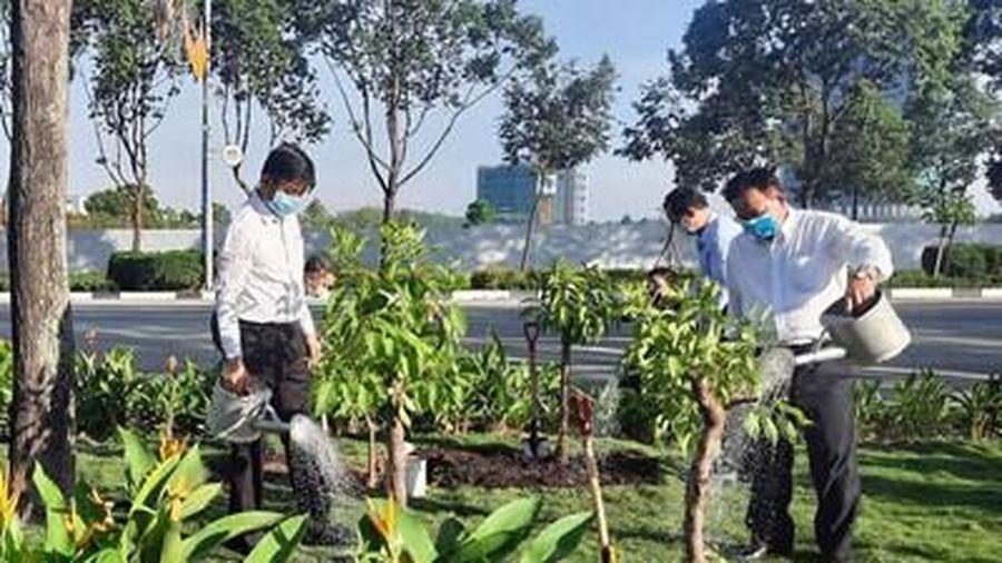 Phát động Tết trồng cây kỷ niệm 131 năm Ngày sinh Chủ tịch Hồ Chí Minh