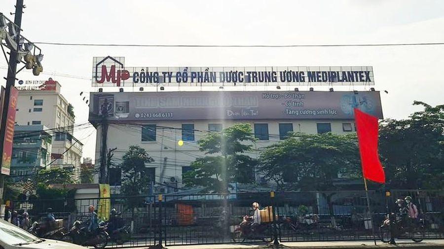 Dược Mediplantex sản xuất thuốc kém chất lượng, ôm quỹ đất khủng?