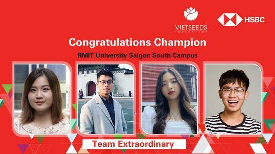 Sinh viên RMIT giành giải nhất cuộc thi Giải quyết tình huống kinh doanh
