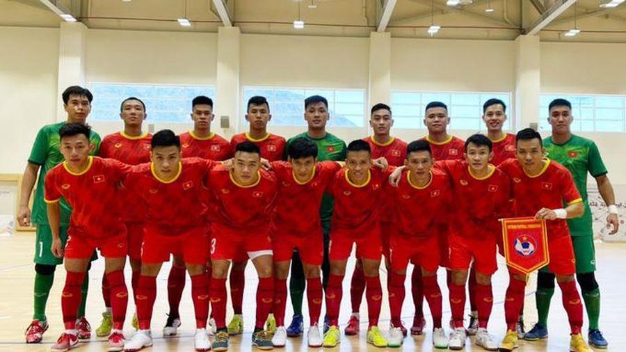 Việt Nam sẵn sàng hạ Lebanon giành vé dự FIFA Futsal World Cup
