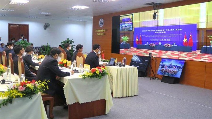 Hội nghị trực tuyến 4 tỉnh biên giới Việt Nam với tỉnh Vân Nam, Trung Quốc