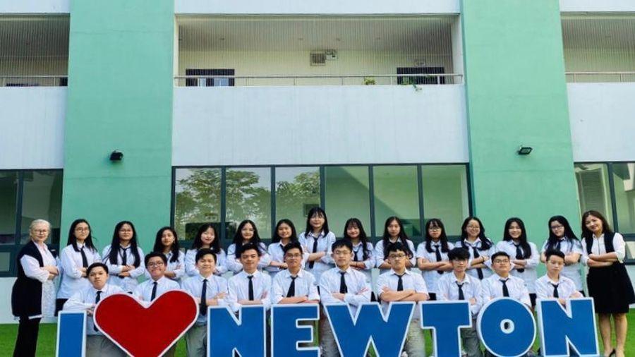 93,2% học sinh trường Newton giành lợi thế lớn trước khi vào đại học
