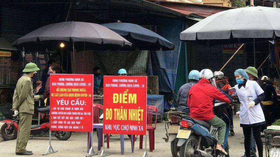 Bắc Ninh áp dụng đi chợ bằng 'tem phiếu'