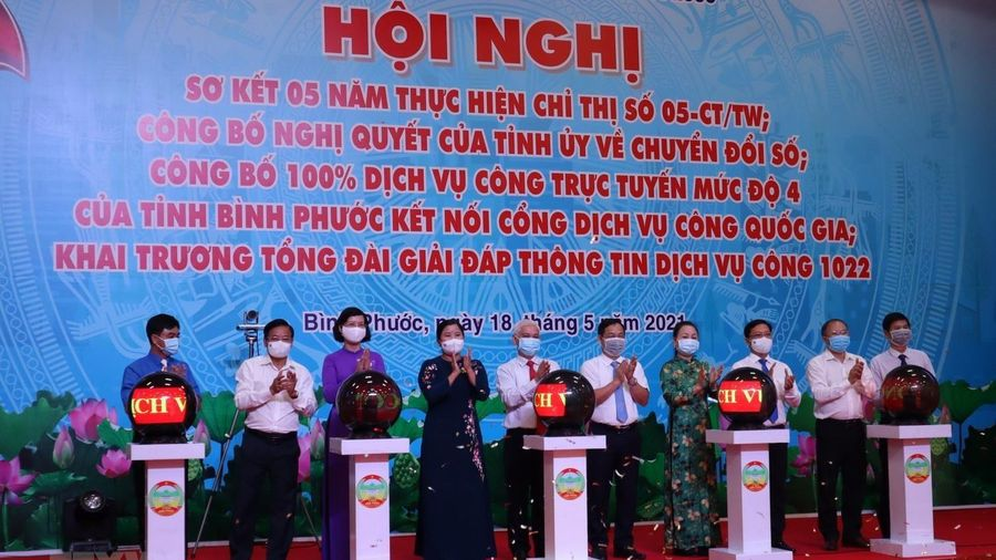 Bình Phước công bố Nghị quyết về chuyển đổi số đến năm 2025