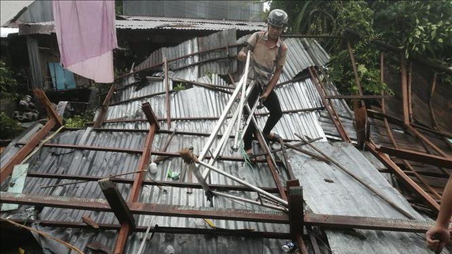 An Giang: Hỗ trợ người dân khắc phục hậu quả dông lốc