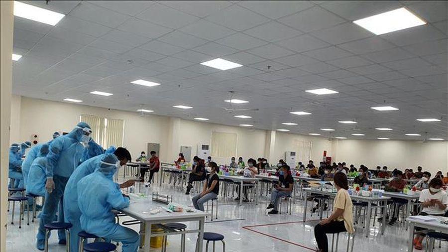 Bắc Giang tạm dừng hoạt động 4 KCN và cách ly xã hội huyện Việt Yên