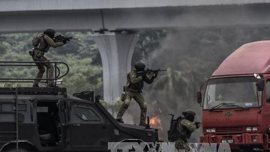 Cảnh sát Malaysia tiêu diệt 5 phiến quân của nhóm Abu Sayyaf