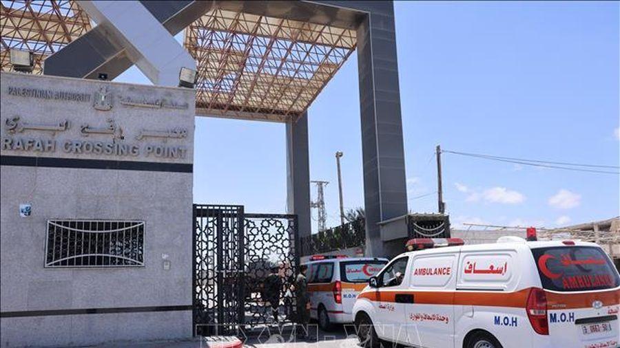 Israel lại đóng cửa khẩu với Gaza sau vụ nã pháo