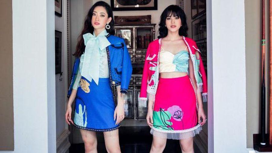 Hoa hậu Đỗ Hà khác lạ khi đọ sắc cùng Lương Thùy Linh