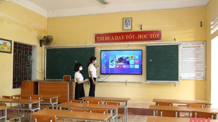 Tích cực chuẩn bị cho chương trình giáo dục phổ thông mới lớp 2 và lớp 6