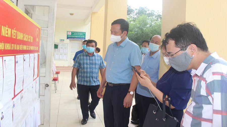 Huyện Sơn Động cần lên các phương án chi tiết trong ngày bầu cử