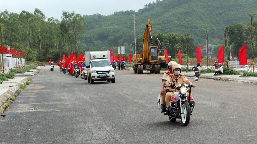 Ra quân tuyên truyền lưu động về bầu cử