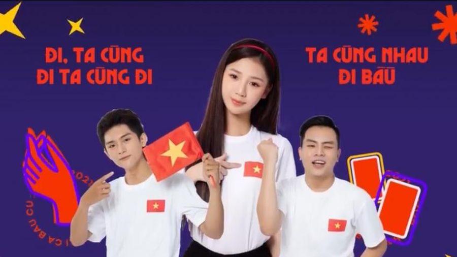 MV 'Bài ca bầu cử 2021' cổ động cho ngày bầu cử của đất nước