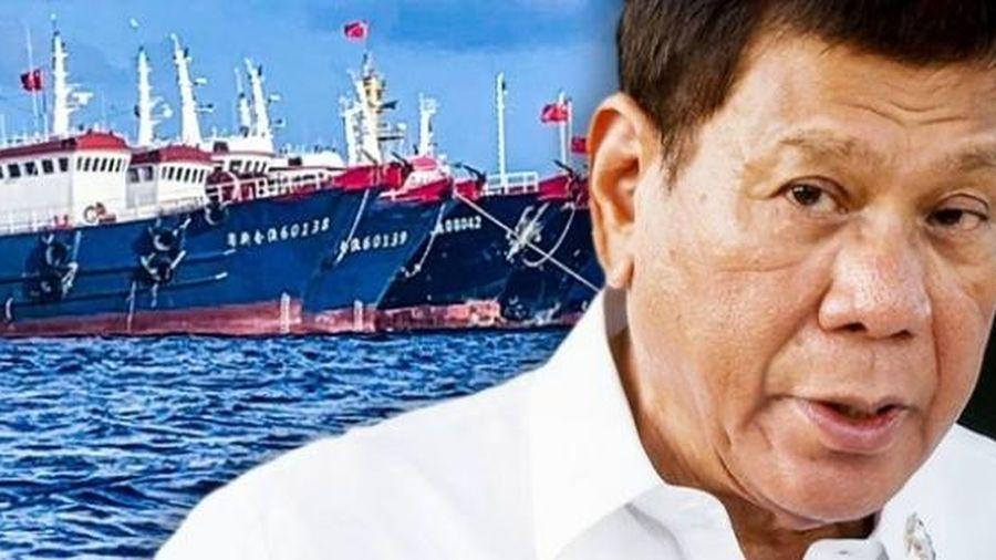 Tổng thống Philippines chỉ đạo nội các không thảo luận vấn đề Biển Đông với bất kỳ ai