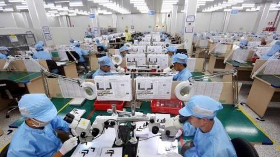 Xuất khẩu hàng hóa của doanh nghiệp FDI giảm